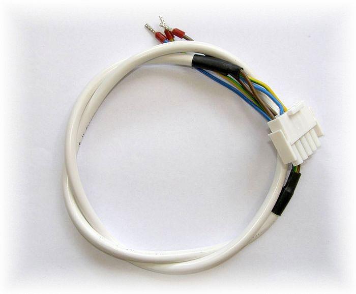 Kabel H05VV-F 3G 0,75 s  konektorem AMPHENOL