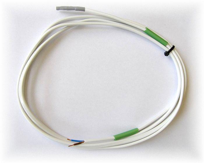 Kabel H03VVH2F 2 x 0,5 s termistorem jako teplotní čidlo